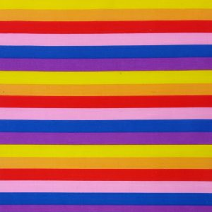 Carnival Stripe - Poly Cotton (0010)
