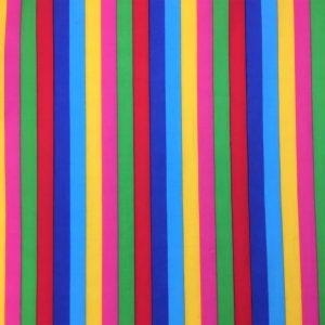 Carnival Stripe - Poly Cotton (0010)