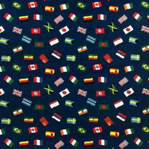 Multi Flag - Poly Cotton (0036)