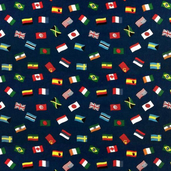 Multi Flag - Poly Cotton (0036)