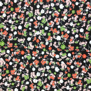 Summer Skies - Small Floral - Cotton Print (12266)