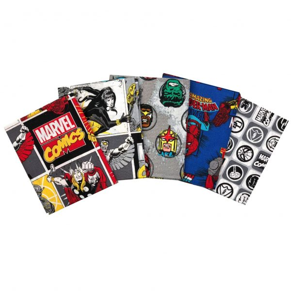 Marvel - Comics - Fat Quarters (13020207)