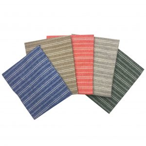 Yarn Dyed Stripe Fat Quarters (2240)