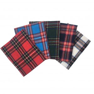Brushed Tartan Fat Quarters (2243)