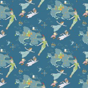 Peter Pan - Disney - Cotton Print (2262)