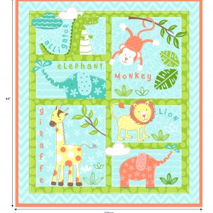 Baby Animals - Cotton Panel (2268)
