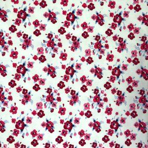 White Poppy - Cotton Spandex (2366)