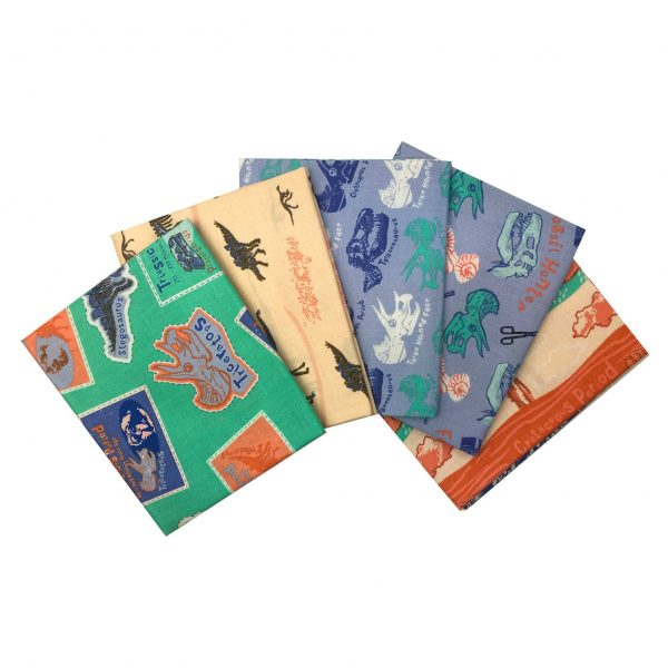 Explore The Plains - Natural History Museum - Fat Quarters (2377)