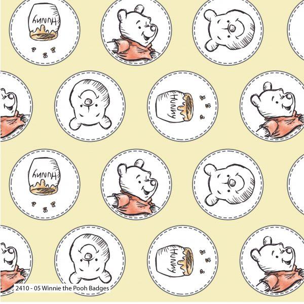 Winnie The Pooh - Cotton Prints (2410)