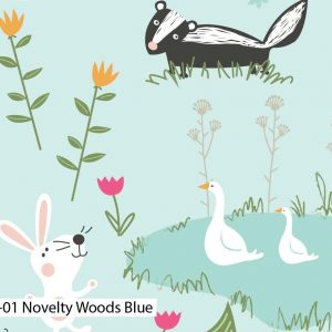 Novelty Woods - Cotton Prints (2419)