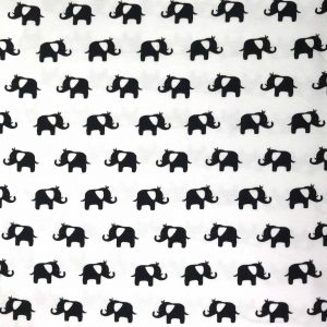 Zoo Elephant - Cotton Spandex (2436)