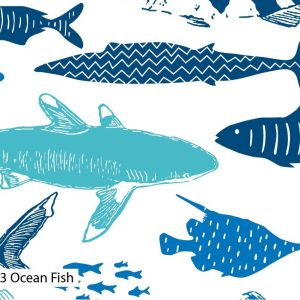 Explore The Ocean - Natural History Museum - Cotton Prints (2441)