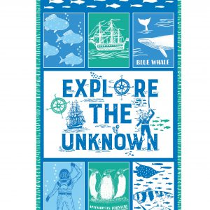 Explore The Ocean - Cotton Panel (2441)