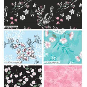 (Pre-Order) Eastern Botanicals - Fat Quarters - by Sarah Payne (2446)