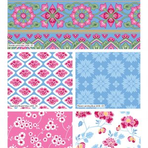 (Pre-Order) The Grand Palace - Fabric Rolls - (2457)