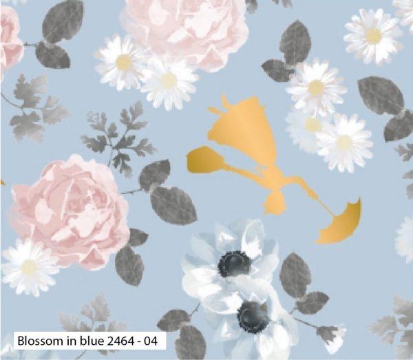 (Pre-Order) Mary Poppins - Disney - Metallic Cotton Print (2464)