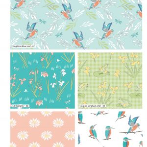 (Pre-Order) Lily Pad Fat Quarters - by Debbie Shore (2466)