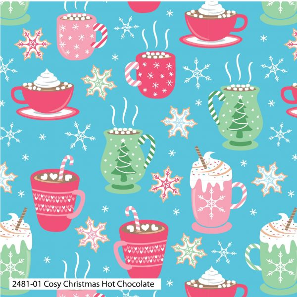 (Pre-Order) Cosy Christmas - Cotton Prints (2481)