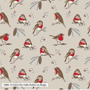 (Pre-Order) Deck The Halls by Debbie Shore - Christmas Cotton Prints (2486)