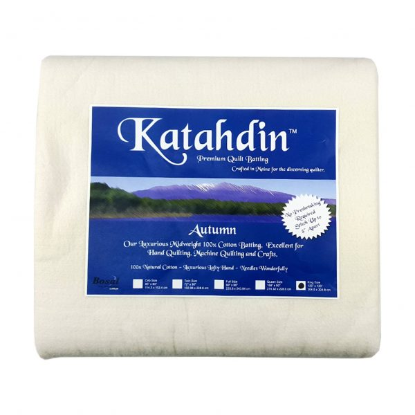Katahdin Premium Cotton Batting Pack (3508)