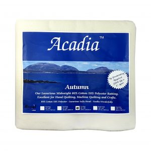 Acadia Premium Cotton Batting Pack (3509)