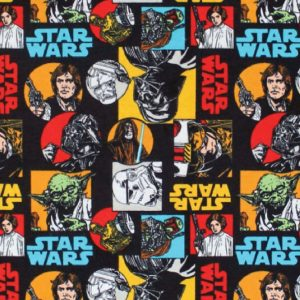 Star Wars Characters - Cotton Print (7310010)