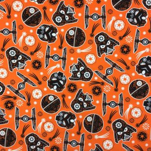 Star Wars - Glow In The Dark Halloween - Cotton Print (7310504)