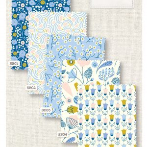 (Pre-Order) Springtime Blues - Fat Quarters (SB-00)