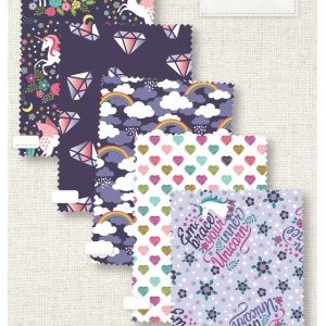 (Pre-Order) Unicorn Magic - Fat Quarters (PL-00)